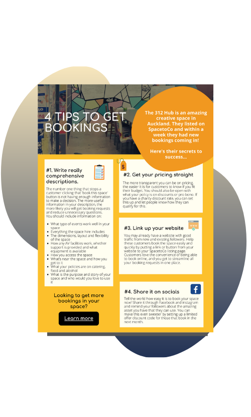 Copy of 4 tips to get bookings_cover image