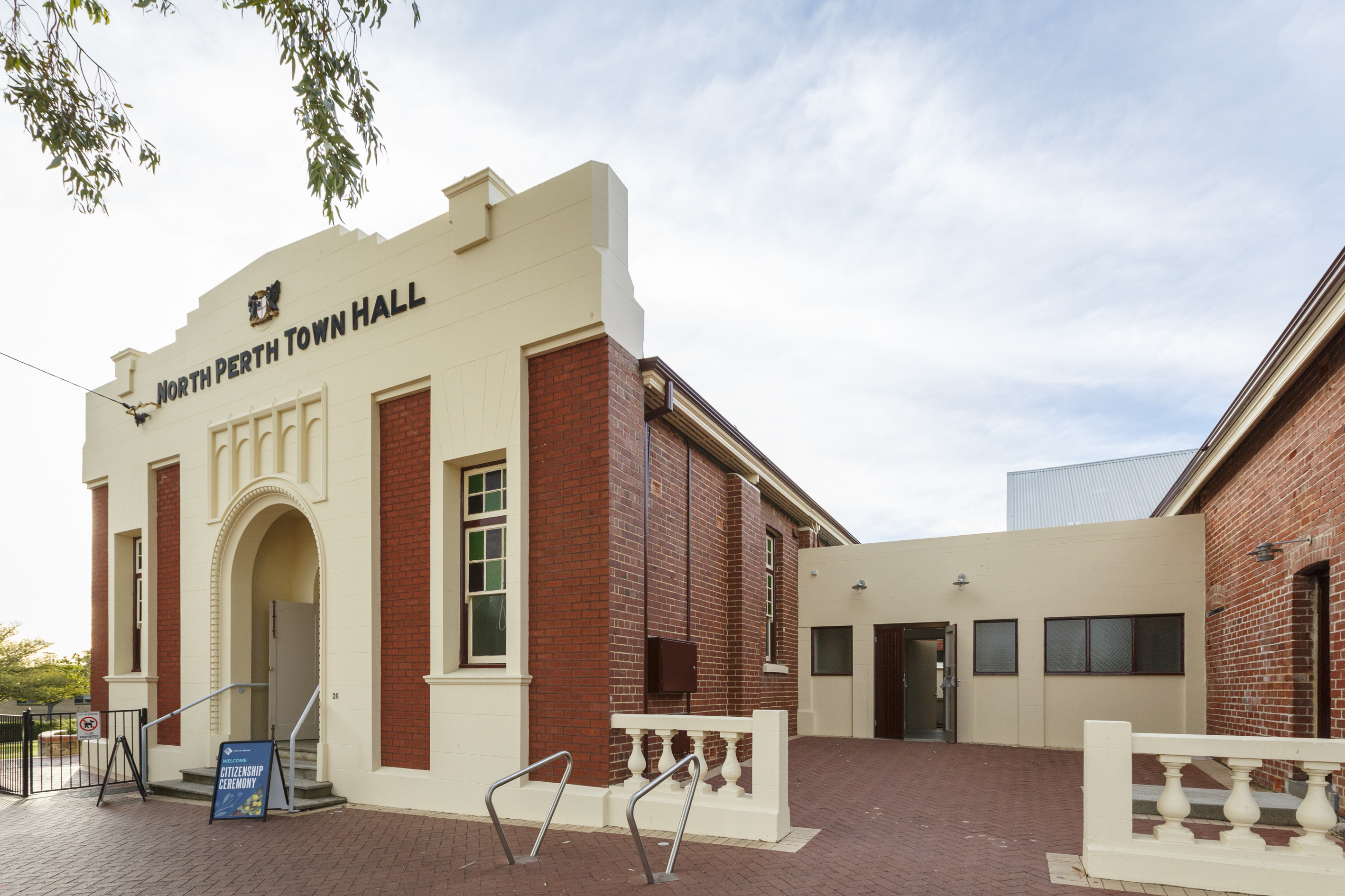 North Perth Town Hall SpacetoCo